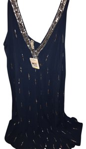 Free People short dress Teal New Sequin on Tradesy