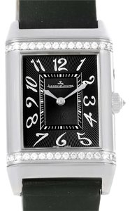 Jaeger Jaeger LeCoultre Reverso Duetto White Gold LE Diamond Watch 278.2.54