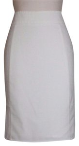 Victoria's Secret Pleated Pencil Skirt IVORY