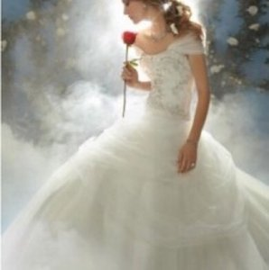 Alfred Angelo Alfred Angelo Disney Belle Style 206 Wedding Dress