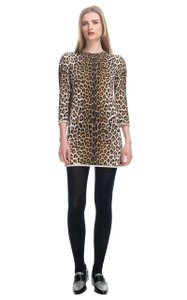 3.1 Phillip Lim short dress Multi Animal Print Leopard Print Sweater Tunic Designer on Tradesy