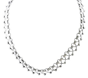 Dignity Jewels 18K White Gold Necklace/Diamond- 1.55ct/Gold- 47.64 Grams