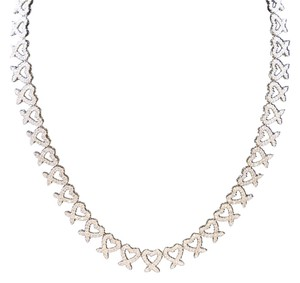 Dignity Jewels 18K White Gold Necklace/Diamond- 11.54ct
