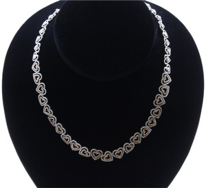 Dignity Jewels 18K White Gold Necklace/Diamond- 5.62ct