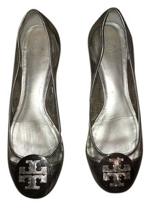 Tory Burch Clear and silver Flats