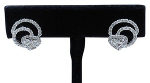 Dignity Jewels 18K White Gold And Diamond Earring Round Shape Diamond-1.19ct Princess