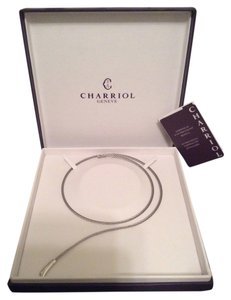 Charriol NEW PHILLIPE CHARRIOL TWISTED CABLE BYPASS WRAP AROUND NECKLACE-995