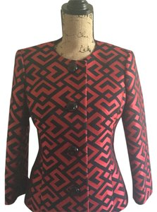 Anne Klein Black & Red Blazer