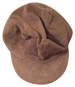 Perry Ellis Perry Ellis Tan Suede Hat