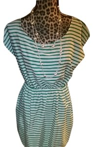 Soprano short dress White green on Tradesy