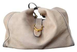 Gucci Leather Large Hobo Bag