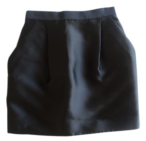Stella McCartney Satin Mini Mini Skirt black