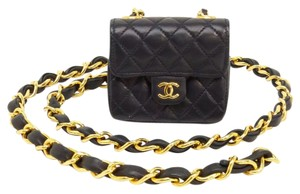 Chanel Chanel mini waist Pouch