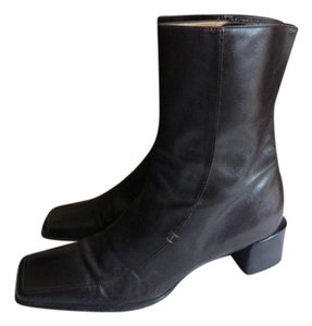 Hermès DARK BROWN, ALMOST BLACK Boots