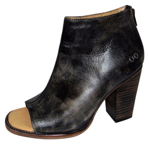 Bed|Stü Onset Open Toe Ankle Black Driftwood Black/gray Boots