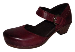 Dansko Makenna Studded Clogs wine Flats