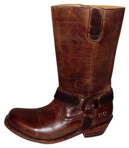 Bed|Stü Bed Stu Longing Mid Calf Brown Boots