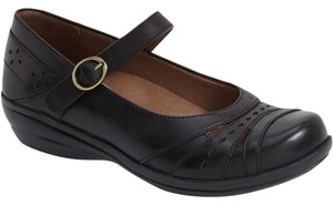 Dansko Current Mathilda Mary Janes Toe Design 40 Black Flats