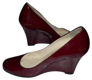 Christian Louboutin WINE RED Wedges