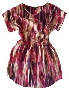 Express With Pockets Multi Colored Dress