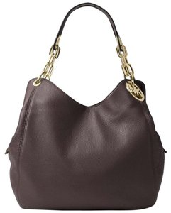 Michael Kors Fulton Large Pebbled Leather Shoulder Bag