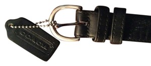 Coach Authentic Coach 8503 Black Leather Belt