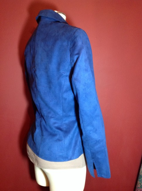 Evan Picone Blue 6 Small Royal blue Blazer