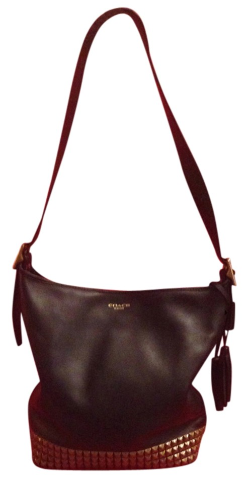 96c4d1aac760 Black Leather Sky Studded Belt Hobo Bag. nextprev. prevnext. Coach Hobo Bag  …