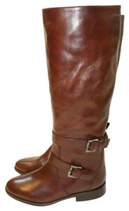 SJP by Sarah Jessica Parker Leather Italian Brown Boots