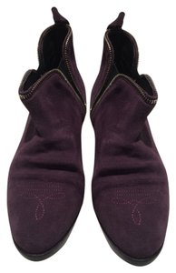 Golden Goose Deluxe Brand Purple Boots