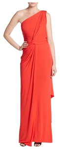 David Meister Gown Formal Fitted Asymmetrical Dress