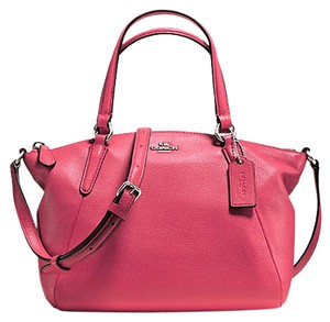 Coach F57563 Kelsey Mini Leather Satchel in Strawberry