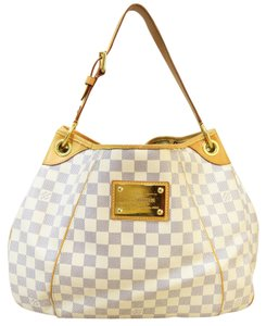 Louis Vuitton Lv Damier Azur Galliera Pm Shoulder Bag