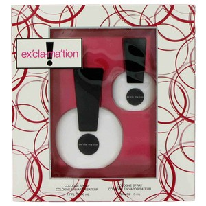 Bicici & Coty EXCLAMATION by COTY ~ Gift Set -- 1.7 oz Cologne Spray + .5 oz Colo...