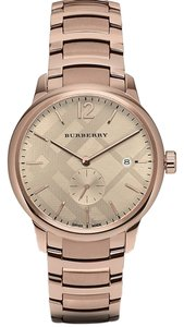 Burberry BU10013 Mens Rose Gold Swiss Made Watch