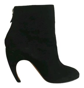 Givenchy Suede Heels Black Boots