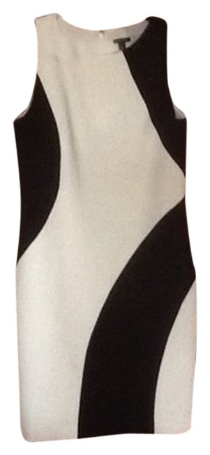 Preload https://item4.tradesy.com/images/ann-taylor-dress-black-and-white-2036418-0-0.jpg?width=400&height=650
