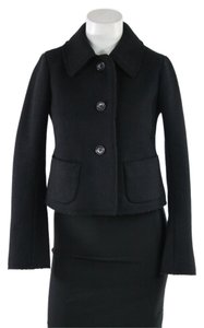 Jil Sander Black Wool Cropped Jacket