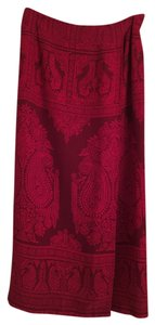 Talbots Maxi Skirt Red