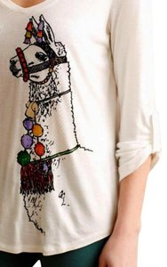 Anthropologie T Shirt NWT Multi-color