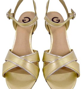 Guess Gold Wedges
