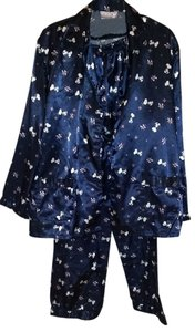 Other SNOOPY Peanuts CHRISTMAS pajamas, size L, navy blue
