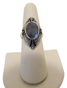 Nicky Butler Nicky Butler 5.30ctw Labradorite Sterling Ring Size 11