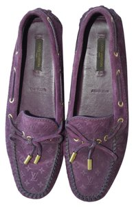 Louis Vuitton purple Flats