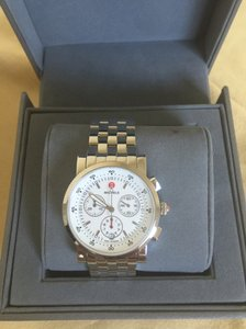 Michele NWT SPORT SAIL WHITE DIAL WATCH MWW01C000021