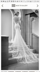 Martina Liana Illusion Back Wedding Dress 675 Wedding Dress