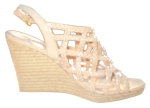 Prada Summer Sandals Couture Nude Wedges