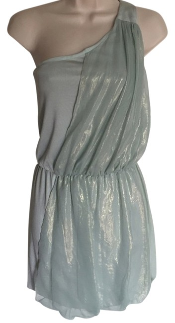 Badgley Mischka Mint Above Knee Cocktail Dress Size 8 (M) Badgley Mischka Mint Above Knee Cocktail Dress Size 8 (M) Image 1