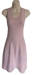 Parker Ribbed Racer-back Dress