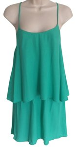PJK Patterson J. Kincaid short dress MInt Ruffle on Tradesy